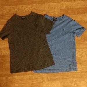 2 boys Ralph Lauren shirts size 7